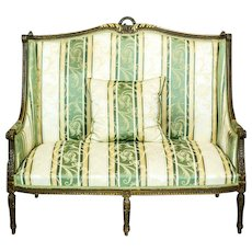 Small Sofa from the Late 19th Century