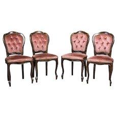 Stylized Italian Chairs, Circa the 1960s