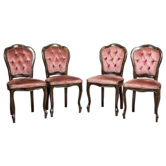 Stylized Italian Chairs, Circa the 1960s