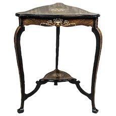 Intarsiated Table, Circa the 19th Century