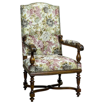 French Armchair/Throne from the Turn of the 19th and 20th Centuries