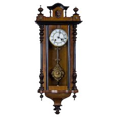 19th-Century Wall Clock