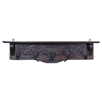 Eclectic Coat Rack, Circa the Turn of the 19th and 20th Centuries