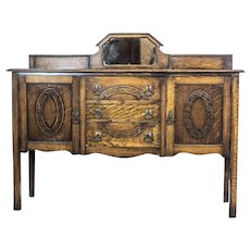 Oblong, English Cupboard, Circa the 1930s/1940s
