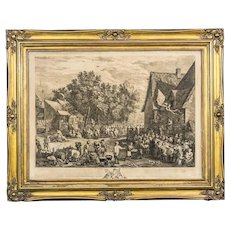 Flemish Holiday – 18th-Century Print