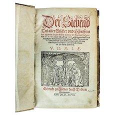 Martin Luther, Scripts – Volume VII, Circa 1598