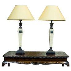 Pair of Spanish Lamps, Circa 1980