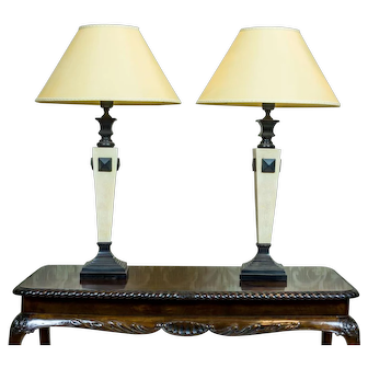 Pair of Spanish Lamps, Circa 1980