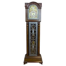 20th-Century Tempus Fugit Grandfather Clock with a Chime