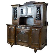 Oak Cupboard from the Interwar Period