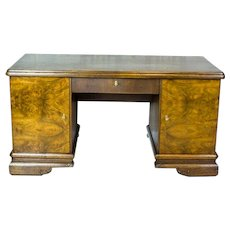 Oak Desk from the Interwar Period