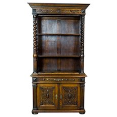 Eclectic Oak Cupboard from the 19th Century