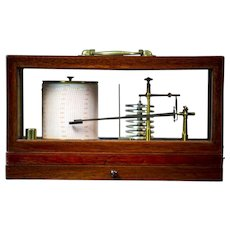 Barograph from the Turn of the 19th and 20th Centuries
