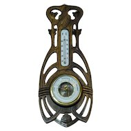 Barometer in a Wooden Case from the Early 20th Century