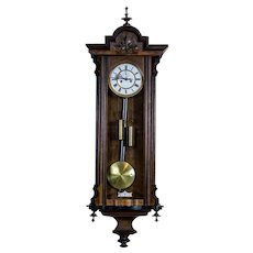 19th-Century Wall Clock