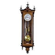 19th-Century Regulator Wall Clock