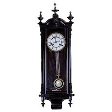 19th-Century Louis Philippe Wall Clock