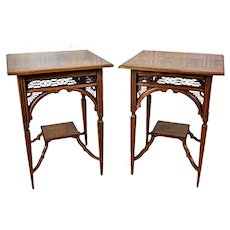 Two 19th-Century English Nightstands