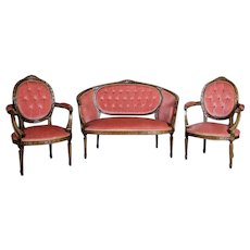 Living Room Set in the Louis XVI Type, Circa 1930