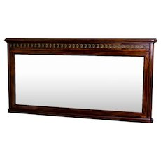 19th-Century Biedermeier Mahogany Mirror