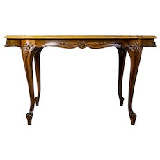 20th-Century Center Table in the Louis Type