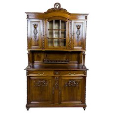 French Walnut Cupboard from the Early 20th Century