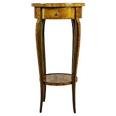 19th-Century Rosewood End Table