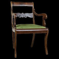 Chair/Armchair in the Biedermeier Type