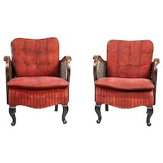Two Thonet Armchairs from the 1920s
