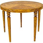 Round Coffee Table, Circa 1930