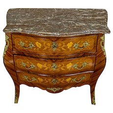 Intarsiated Dresser from the Early 20th c.