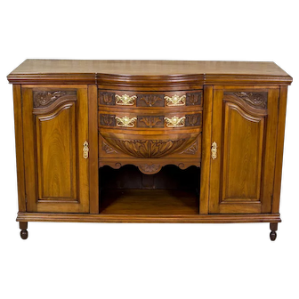 Sideboard/Buffet, Circa the Turn of the 19th and 20th Centuries