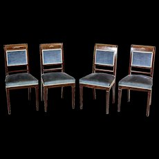 Chairs in the Charles X Style, Circa 1830