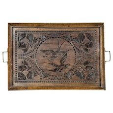 Oak Tray from the Early 20th Century