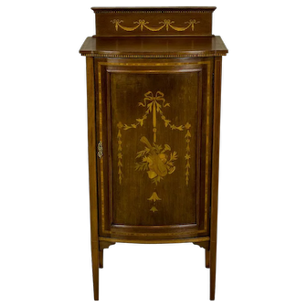 Bedside Table/Cabinet, Circa 1880