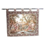 Prewar Tapestry on a Rod -- Circa 1920/30