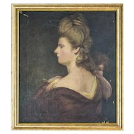 A 19th-Century Painting -- A Portrait of a Woman