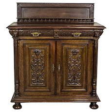 Carved Cabinet/Sideboard, Circa 1880