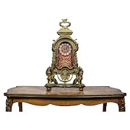French Mantel Clock, Circa 19th Century