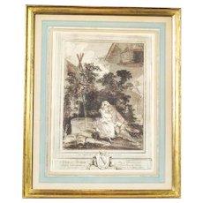Graphic in the Rococo Type, Circa the 19th Century