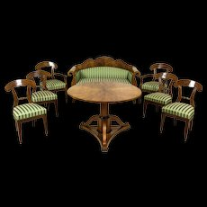 Amazing Biedermeier Living Room Set