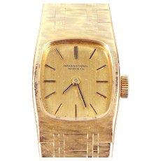 Vintage IWC lady wrist watch