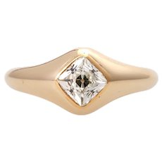 1CT old cut diamond ring Gold