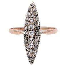 Antique old diamond ring Gold