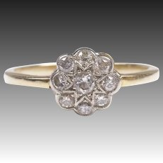 Antique 14k gold Diamond Ring