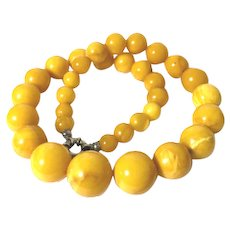 52.9 Gram 9.5mm-19mm  natural baltic amber necklace amber bead
