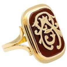7.5 Gram Rare old gold ring