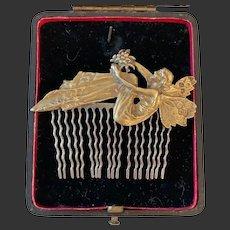 Art Nouveau Rare antique hair pin Masriera?