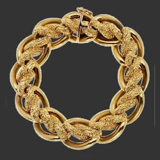 rare Antique 18k Gold bracelet