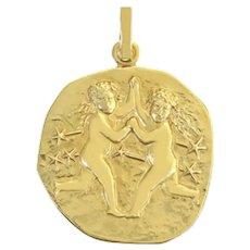 Vintage 14k yellow gold pendant